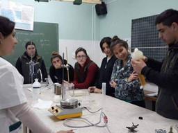 La Escuela de Educación Agraria de Laprida en el Proyecto 4x4