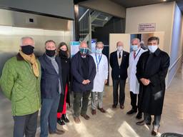 Acompañamos la apertura del Hospital Solidario COVID Austral