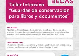 """Nuevo concurso """"Guardas de conservación para libros y documentos"""""""