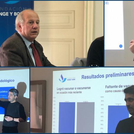 La Fundación lanza un Índice de Confianza y Acceso a Vacunas en Argentina (ICAV)