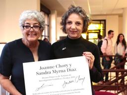 Sandra Díaz, Premio Fundación Bunge y Born 2019,  recibió el Premio Princesa de Asturias 2019