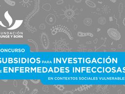 Anunciamos los ganadores de los subsidios sobre enfermedades infecciosas y vulnerabilidad social