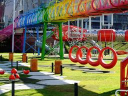 Un nuevo sistema de juegos de patio para escuelas rurales