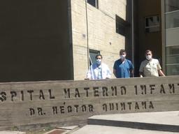"""Nuevo acuerdo de colaboración con el Hospital Materno Infantil """"Dr. Héctor Quintana"""" de Jujuy"""