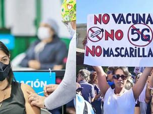 El debate sobre vacunas en las redes sociales se multiplicó por cinco durante el año 2020