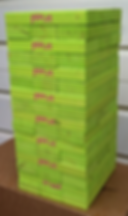 giant lumberstack, giant tumble towers, custom tumbling tower, giant logo blocks, logo game,Corporate Custom Logo giant outdoor block tower game, promotional game, teambuilding game, custom christmas gift, wood or cork giant block games, best gift 2017