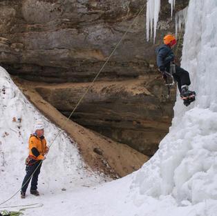 Ice Climbing/Dog Sledding Package