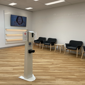East Tamworth Dental Care Waiting Area