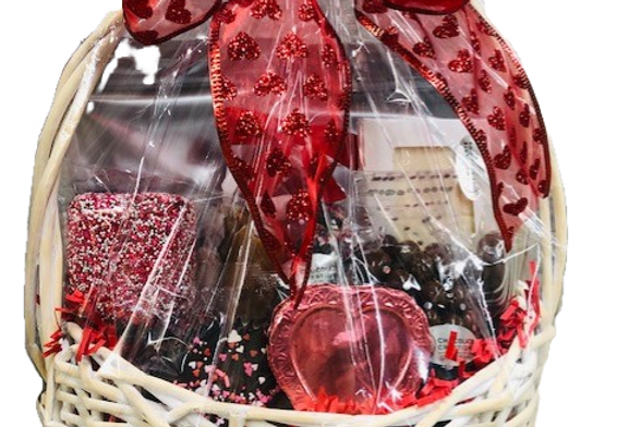 Customizable Chocolate Gift Baskets