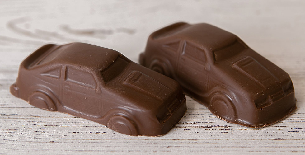 Solid Chocolate Car