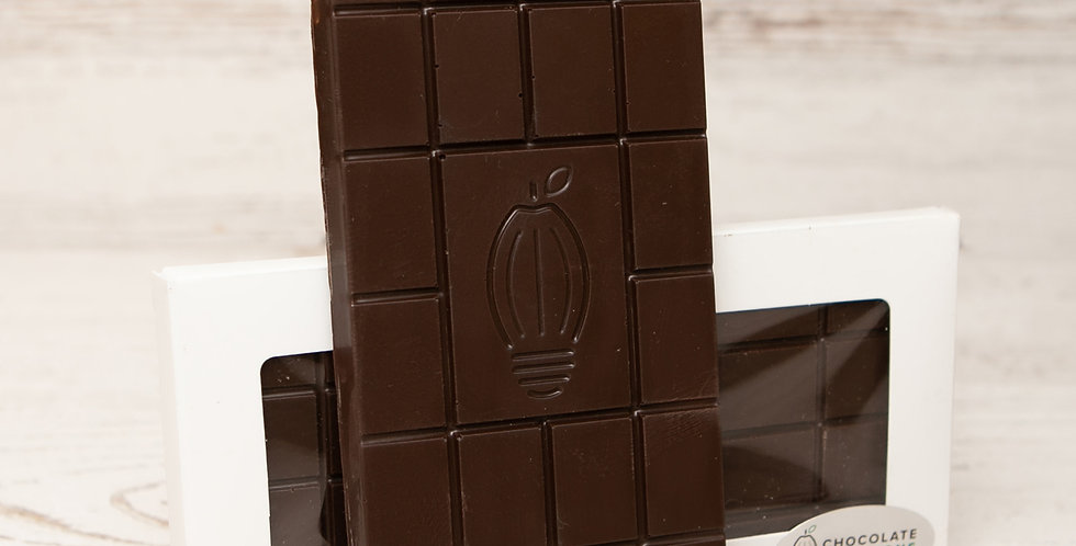 70% organic dark chocolate bar