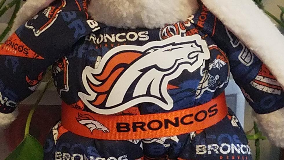 Denver Bronco Bunnykins