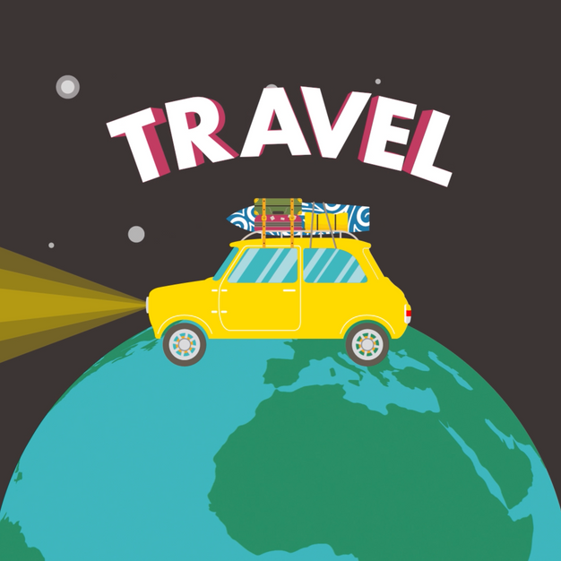 Travel the World Animation