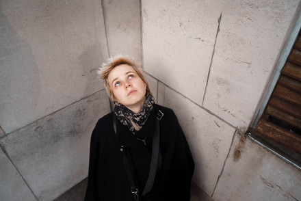 A portrait in a corner in Manchester by Fedor Vasilev