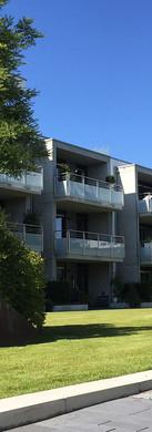 Dachgarten der Klimaschutzsiedlung Am Wasserturm, Mönchengladbach