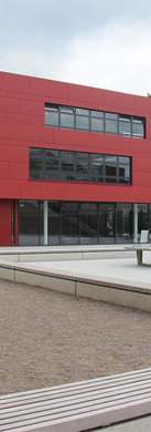 Atriumhof und Erweiterung Apostelgymnasium, Köln-Lindenthal