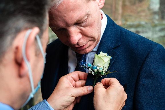 Groom is getting ready for his wedding. Photographer in Berlin Fedor Vasilev