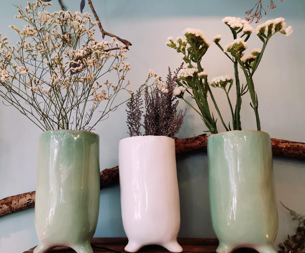 Les petits vases trop mignons du moment...