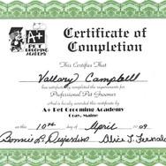Grooming Academy Certification