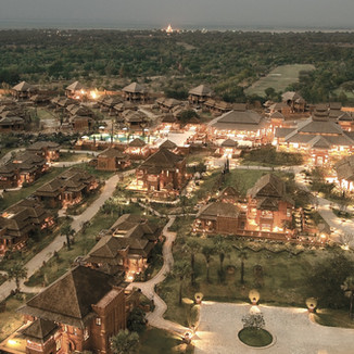 Aureum Palace Bagan - Myanmar