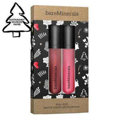 Full-Size Matte Liquid Lipcolor Duo