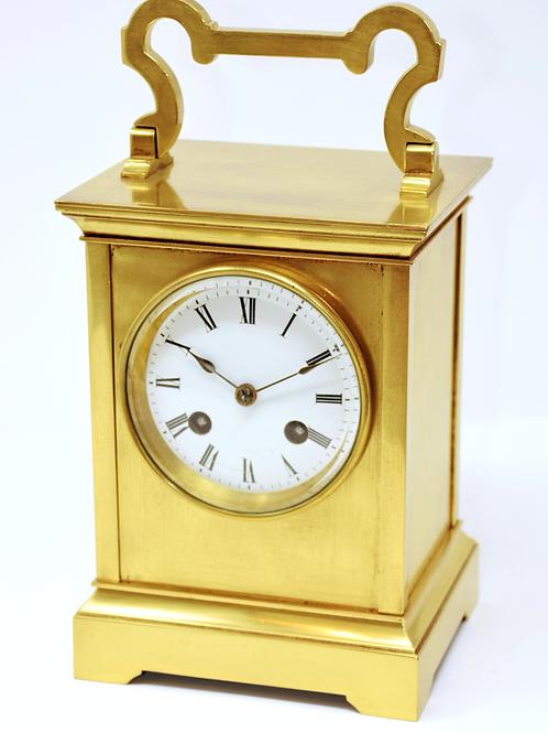 Utilitarian travel clock.