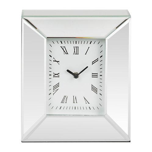 HESTIA® MIRROR RECTANGULAR MANTEL CLOCK