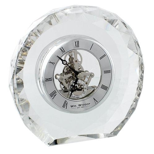 WILLIAM WIDDOP® CRYSTAL MANTEL CLOCK