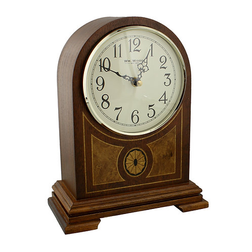 WOODEN BARRISTER MELODY MANTEL CLOCK