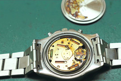A water damaged Breitling
