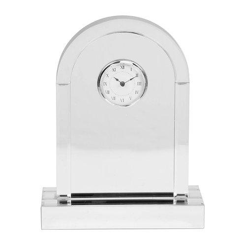 HESTIA® MIRROR ARCHED MANTEL CLOCK