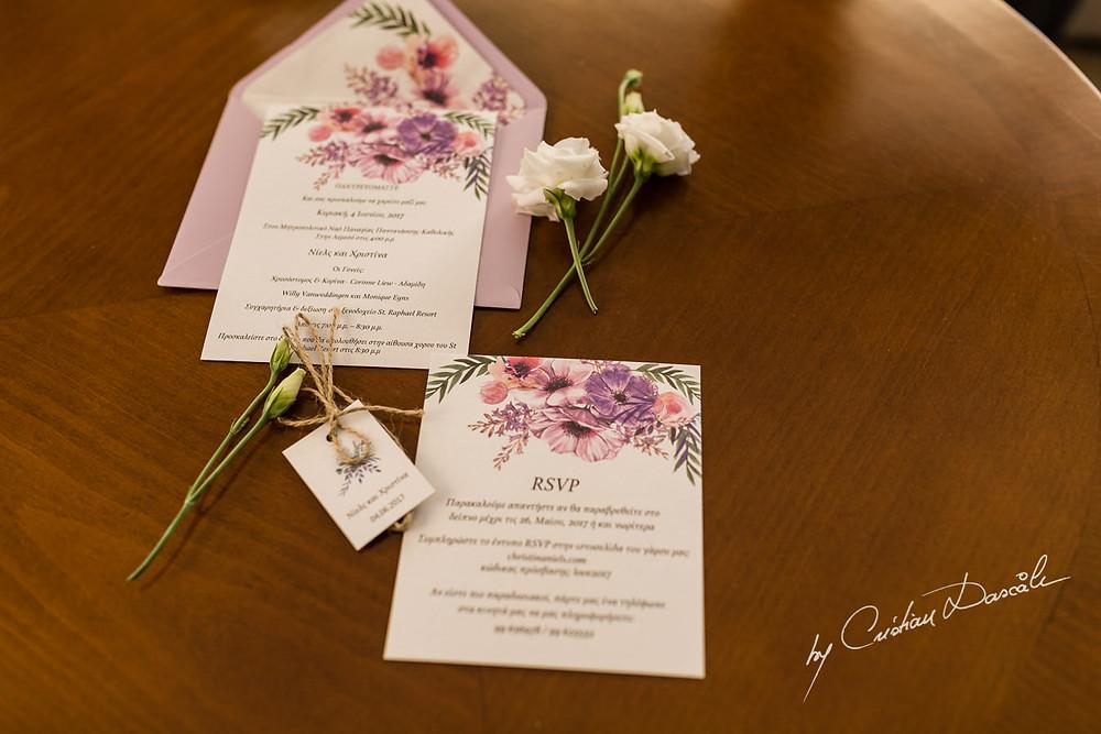 Wedding invitations greek wedding