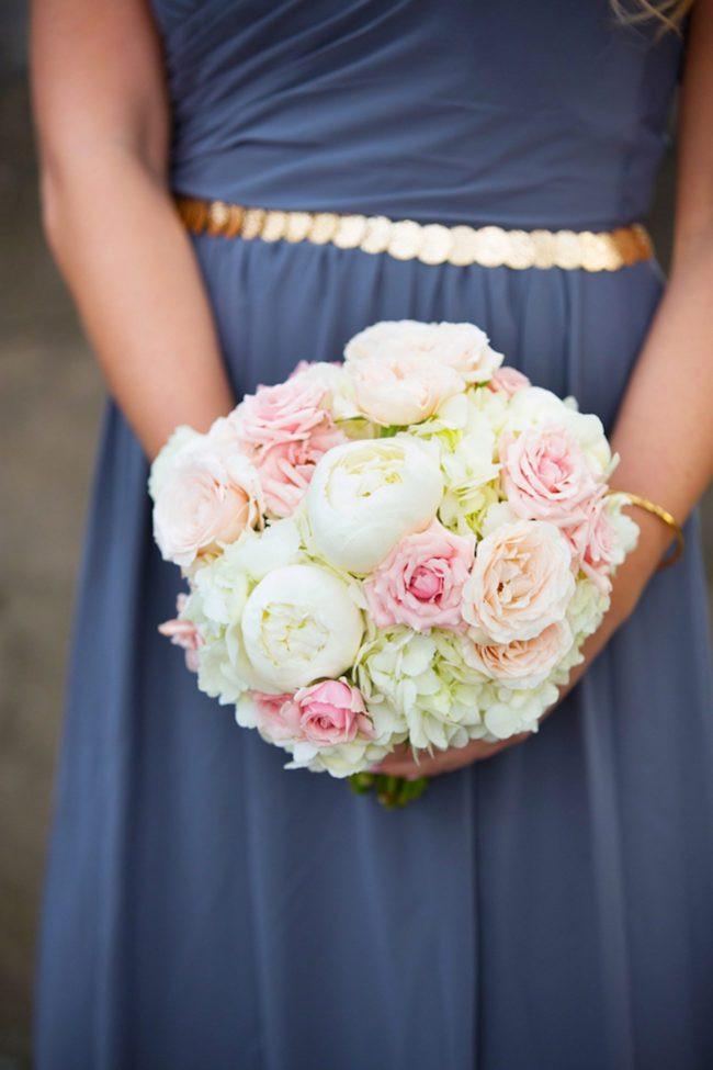 Pretty pink bouquet via Stylemepretty.com