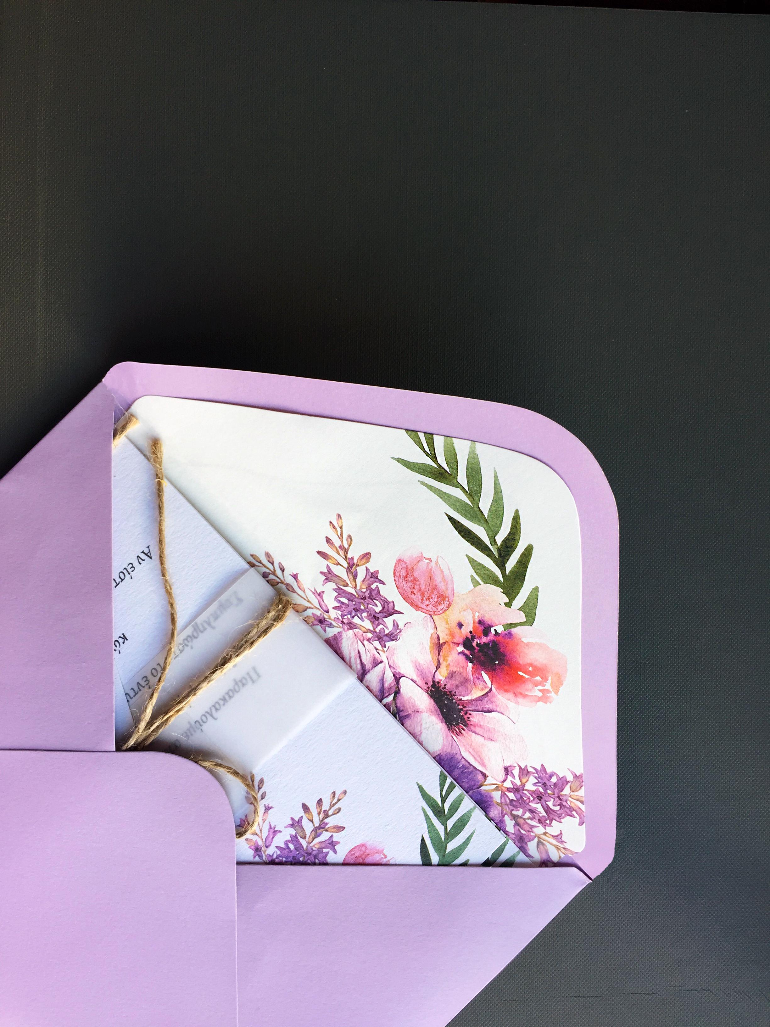 Lilac wedding suites
