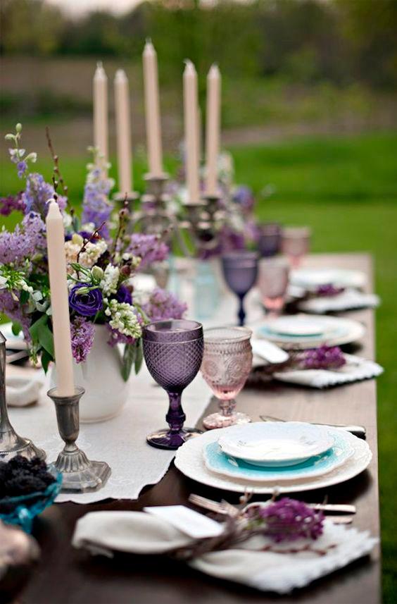 Ultra violet decor createyourbigday