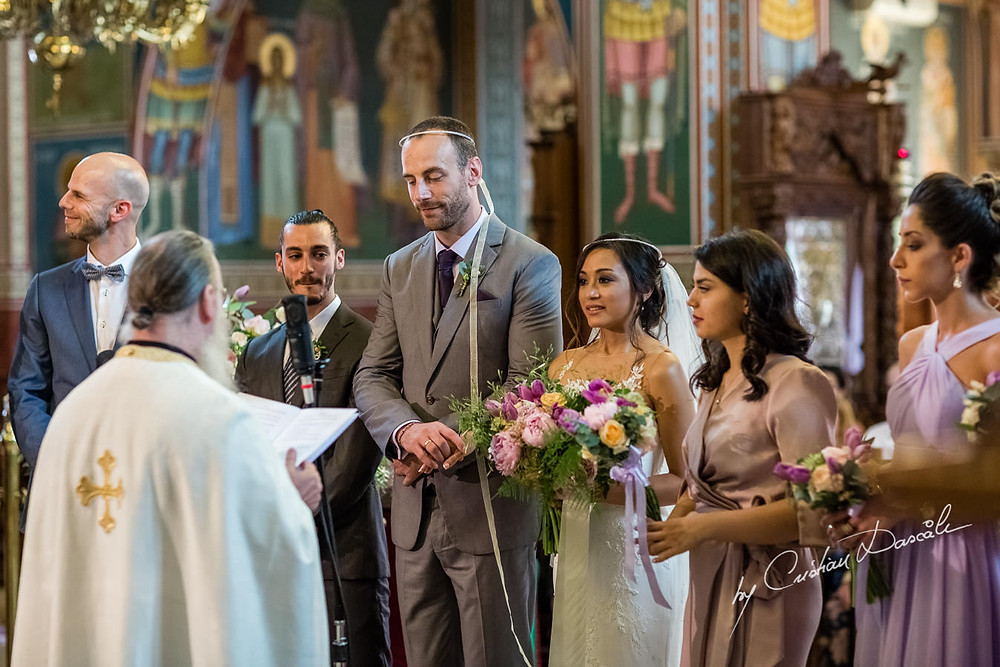 Stefana or crowns are an important part of Greek Orthodox weddings