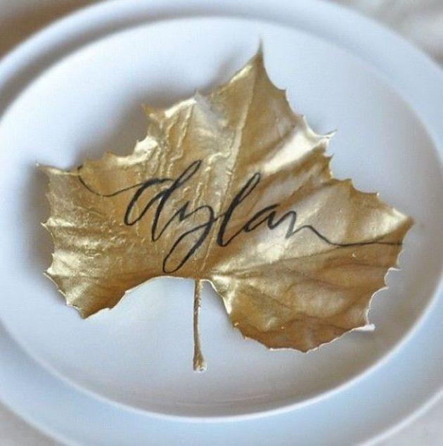 Leafy wedding ideas