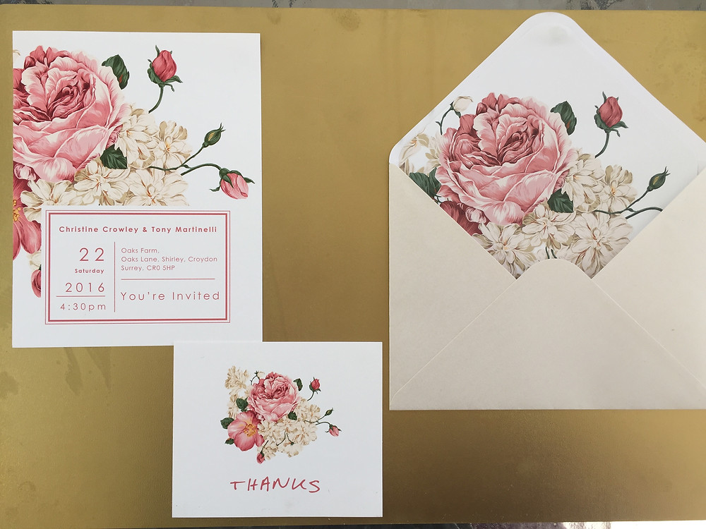 Wedding stationery collection (semi-custom collection)