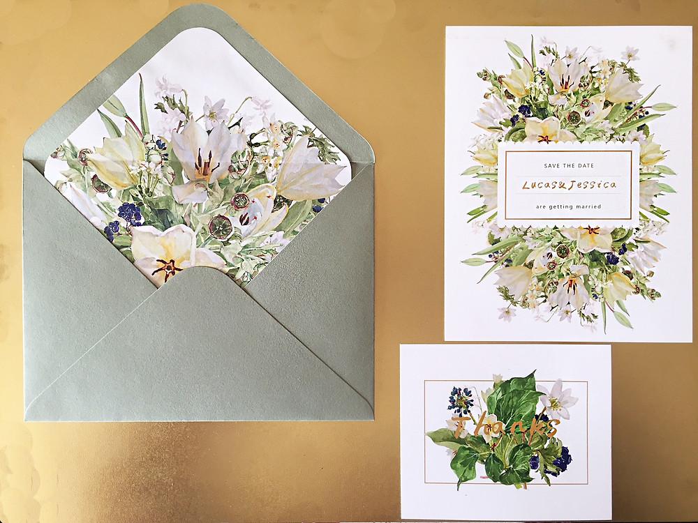 Wedding semi-custom collection