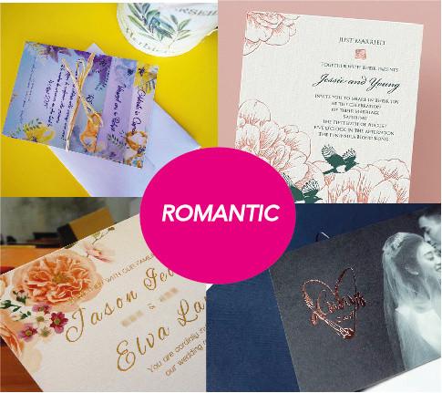Romantic font styles