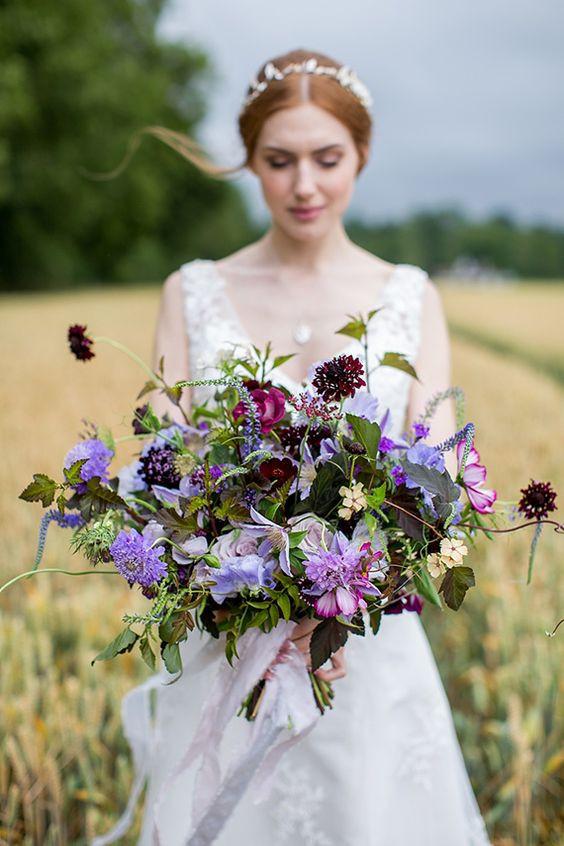 Ultra Violet Wedding bouquet