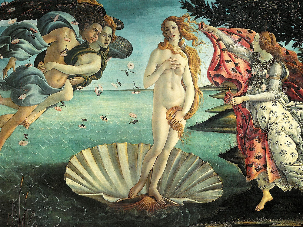 """The Birth of Venus"" painting by Sandro Botticceli"