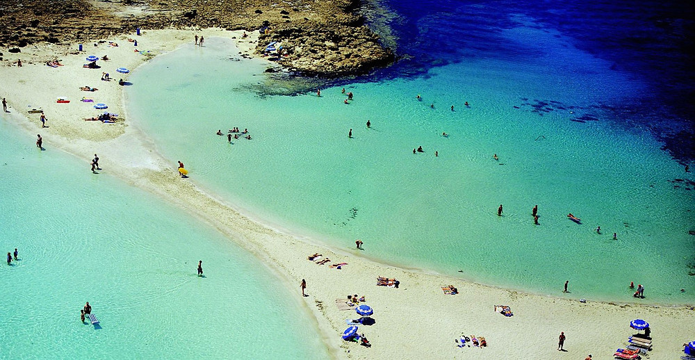 Ayia Napa: Popular for its beaches and nightlife