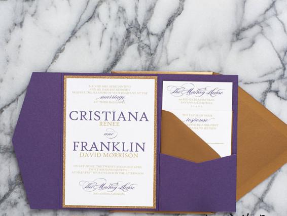 Ultra violet wedding suite