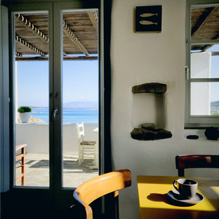 Dining Area with view to the veranda