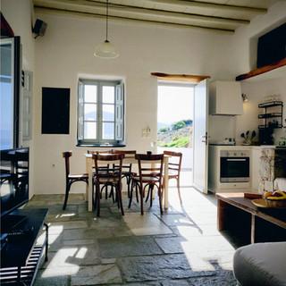 Living Room and Dining area at Villa Danai