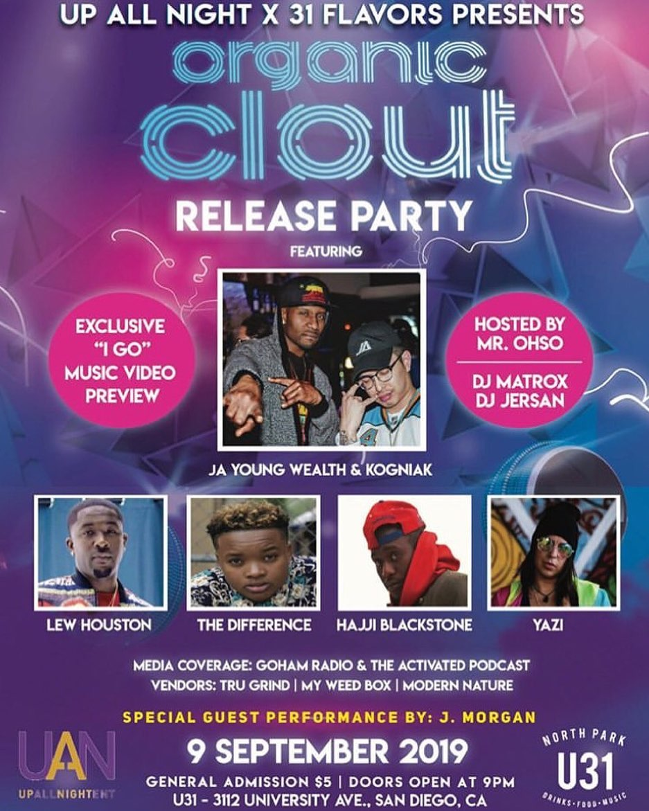 Organic Clout Release Party
