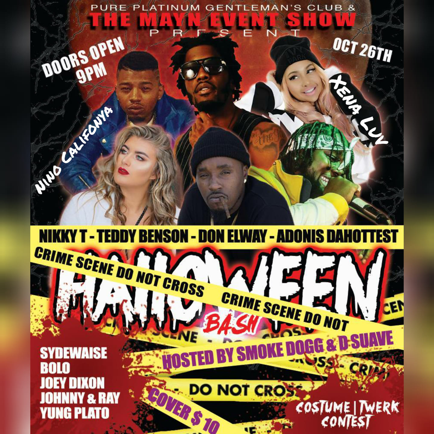 The Mayn Event Show - Halloween