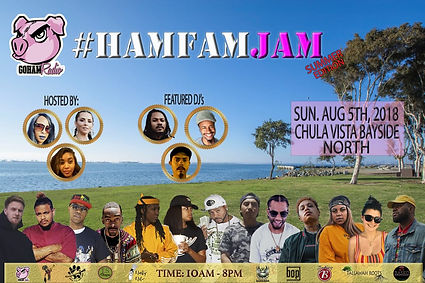 HAMFAMJAM Aug 2018