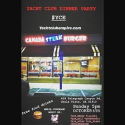 YCE Dinner Party